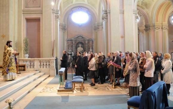 Проповедь на Литургии Преждеосвященных Даров в храме святого Алексия