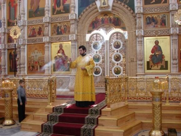 В Воскресенском кафедральном соборе г.Твери