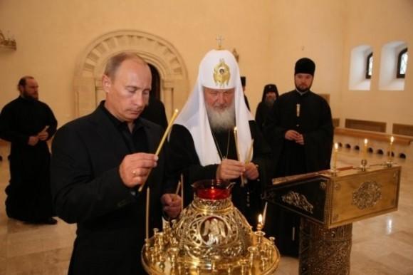 Во время визита Владимира Путина на Валаам