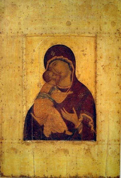 Владимирская Богородица. Андрей Рублев