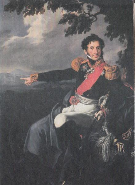 Худ. В.А.Тропинин. Портрет П.И.Багратиона