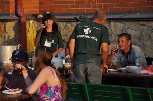 Церковный волонтерский лагерь
