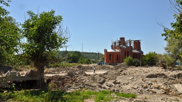 Баканка, храм не пострадал
