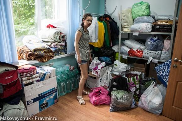 Сбор помощи на Спортивной. Фото Юлии Маковейчук (40)