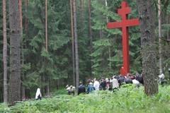 Катынь — место общей трагедии России и Польши (ФОТО)