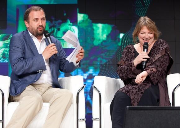 Андрей Золотов и Евгения Смольянинова