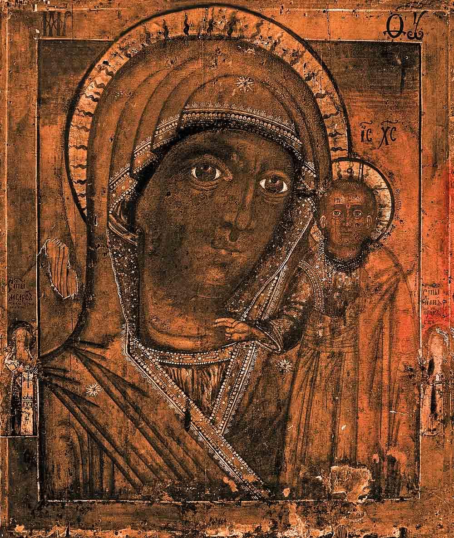 чудотворная икона казанской божьей матери: