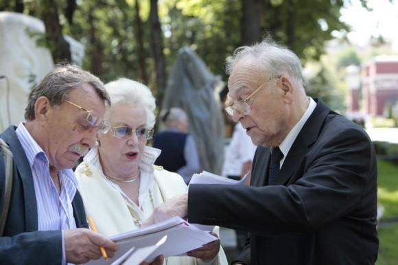 Справа налево: Игорь Кириллов, Анна Шатилова