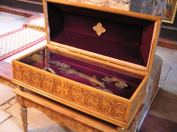 Мощи Преподобной Ангелины Сербской. Монастырь Крушедол, Сербия