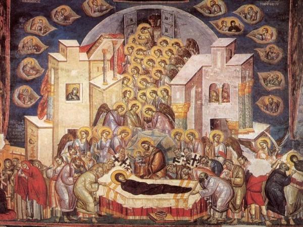 Слово на  достопоклоняемое и преславное Успение Пресвятой  и Пречистой Владычицы нашей Богородицы