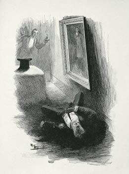 Уайльд пишет портрет дориана грея
