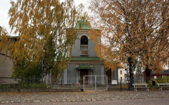 Покровский храм в Лапееранте