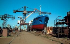 Морской порт в Каменке, где ЛДК