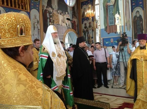 Молебен об утешении скорбящих в Крымске