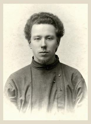 Николай Беляев - гимназист