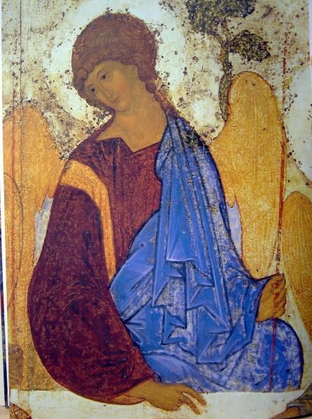 Троица, фрагмент-3. Андрей Рублев
