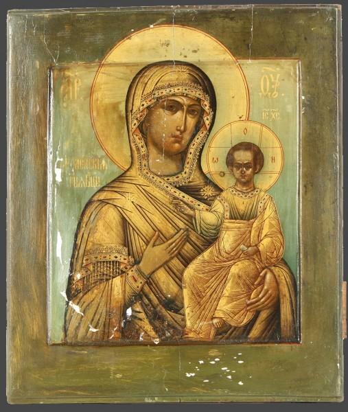 """""""Смоленская"""" икона, XVIII век"""