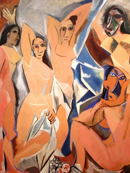 Авиньонские девицы. Пабло Пикассо