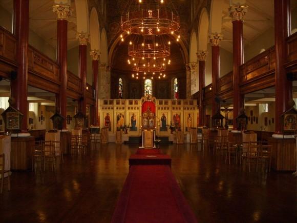 В Успенском соборе в Лондоне