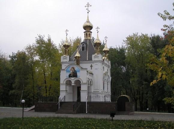 Храм-часовня в честь святых Богоотцов Иоакима и Анны, г. Ровеньки