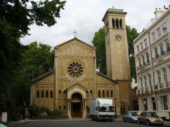 Лондон. Кафедральный собор Успения Божией Матери и Всех Святых