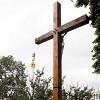 В Киеве на месте спиленного активистками FEMEN креста установили новый