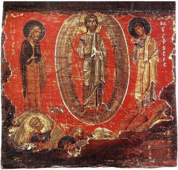 Икона. 1-ая половина XII в. ГЭ, Спб