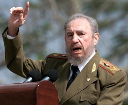 Фидель Кастро. Фото: grandisplay.ru