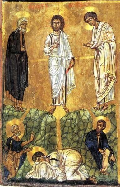Трехчастная икона. XII в. Монастырь cв.Екатерины, Синай, Египет. Фрагмент