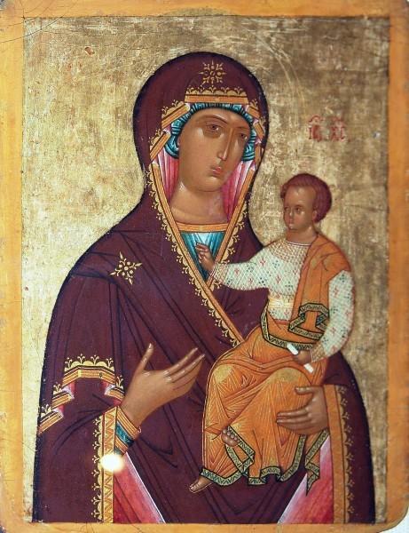 """""""Смоленская"""" икона, Новгород1484-1504"""
