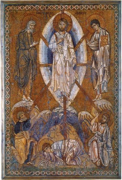 Мозаическая икона. Византия. 1-ая половина XII в. Лувр, Франция