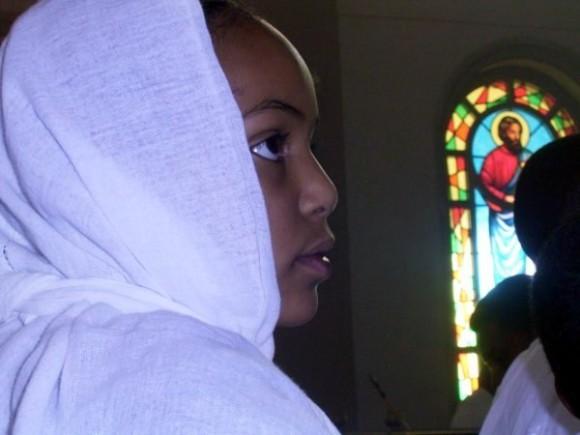 Эфиопские богомольцы