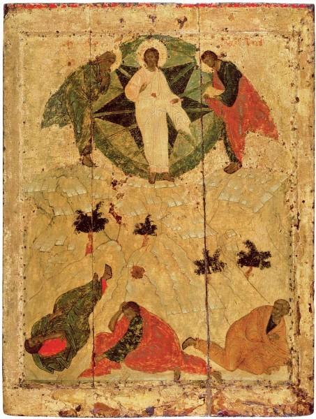 Икона из празднич. чина Благовещенского собора Моск. Кремля. Нач.XV в. Москва