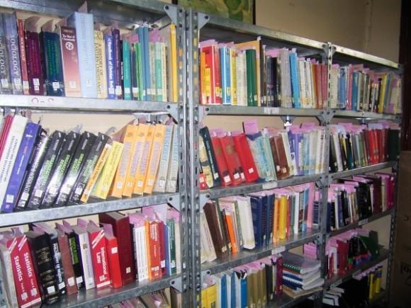 Библиотека в Колледже св. Троицы