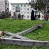 Уничтожен поклонный крест в Архангельске