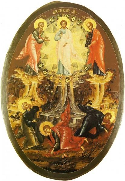 Палехская икона. Серед.XVIII в. Гос.музей палехского искусства. Палех