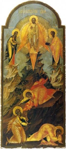 Палехская икона. Нач.XIX в. Гос.музей палехского искусства. Палех