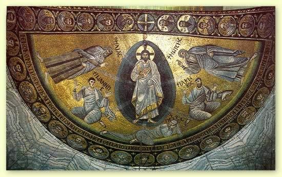 Мозаика церкви монастыря cв.Екатерины на горе Синай. Ок. 565–566 гг.