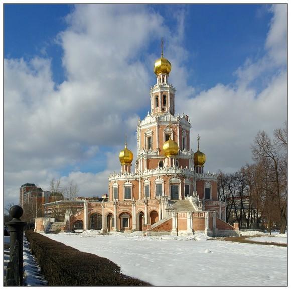 Покровская церковь в Филях. Фото: Issahar, photosight.ru