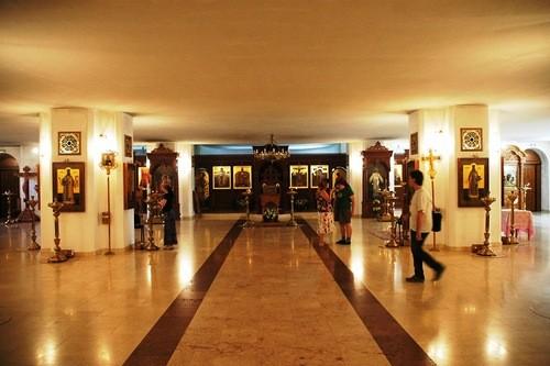 Нижний этаж Бутовского храма