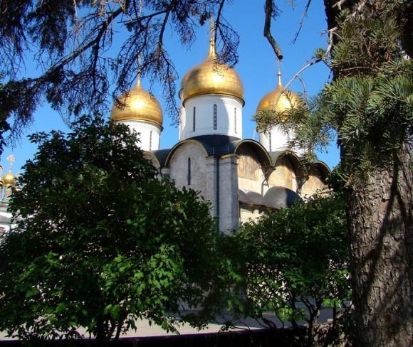 Успенский собор Московского Кремля. Фото: prrk, photosight.ru