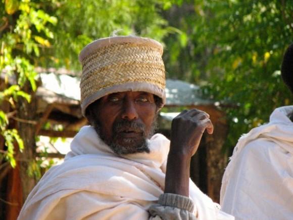 Эфиопский монах