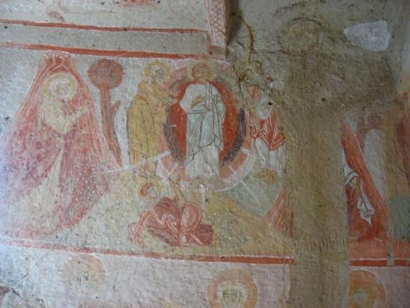 Фреска так называемой «Стрятанная церкви». X в(?). Гёреме, Каппадокия, Турция