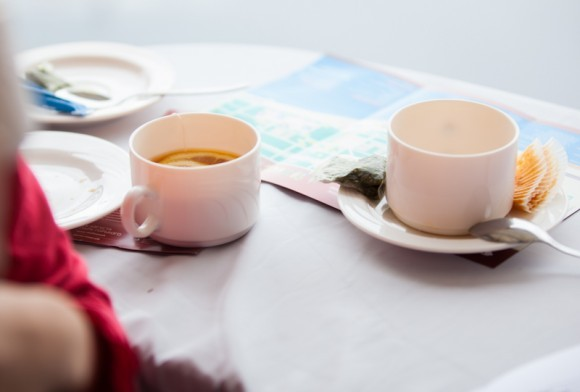 Чай в пресс-центре