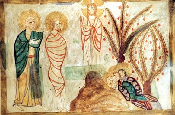 Миниатюра армянского Евангелия (Ms 6201. Fol 6). 1038г. Матенадаран, Ереван, Армения