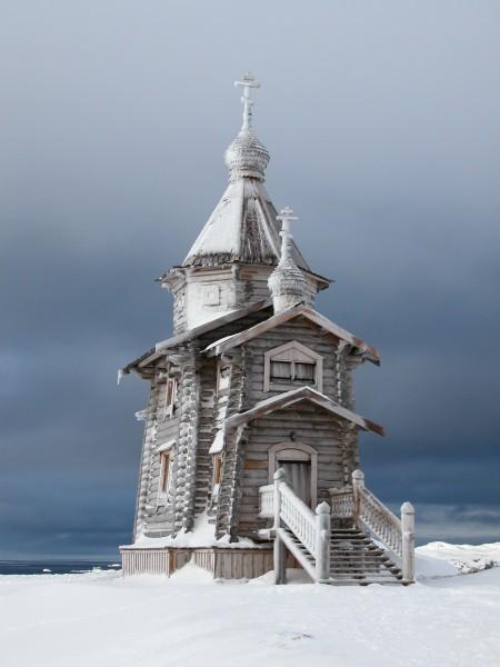 Храм на Антарктиде