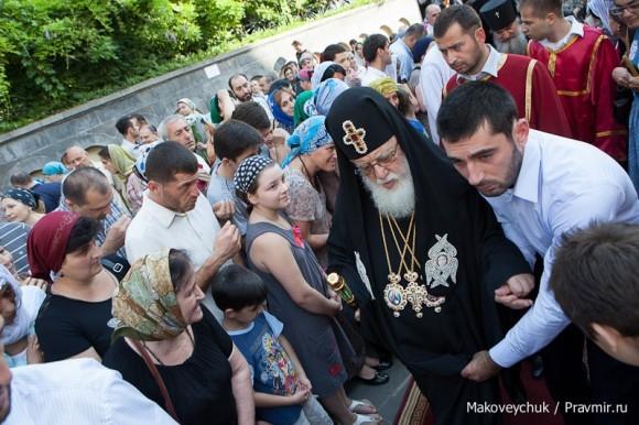 Встреча Святейшего Католикоса-Патриарха Илии