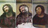 """Из-за любительской реставрации испорчена знаменитая фреска Мартинеса """"Се, человек"""""""