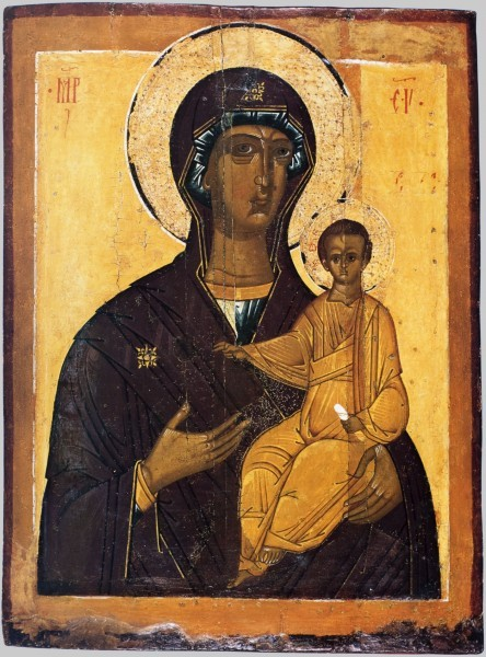"""""""Смоленская"""" икона, XVI век"""