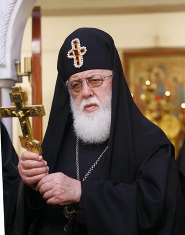 Католикос-Патриарх Грузии Илия II. Фото: http://simvol-veri.ru